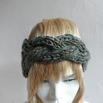 Best Chunky Knit Headband Products on Wanelo 79ed2ad9f0f