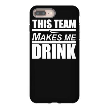 this team makes me drink iPhone 8 Plus