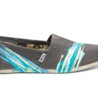Tyler Ramsey Hand Painted Stripes Ash Men's  Classics | TOMS.com