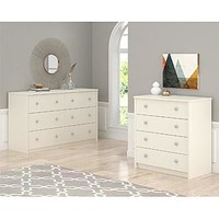 Essential Home Belmont 6 Drawer Dresser – White