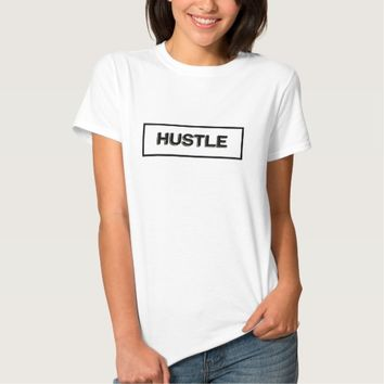 Hustle Modern Gold Black T-Shirt