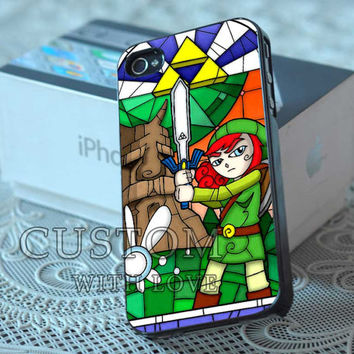 Legend of Zelda Triforce  - Rubber or Plastic Print Custom - iPhone 4/4s, 5 - Samsung S3 i9300, S4 i9500 - iPod 4, 5