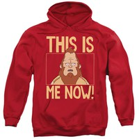 Bobs Burgers - This Is Me Adult Pull Over Hoodie Officially Licensed Apparel