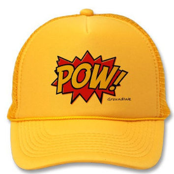 Buttercup Yellow Pow Snapback