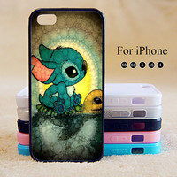 Stitch,Cute,iPhone 5 case,iPhone 5C Case,iPhone 5S Case, Phone case,iPhone 4 Case, iPhone 4S Case,Case-IP002Cal