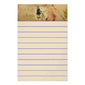 French Postcard Stationery
