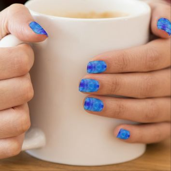 Blue Wings Minx® Nail Art