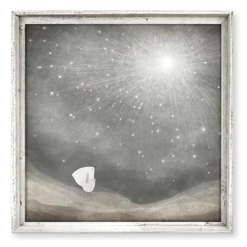 Framed Canvas Art - Ten Thousand Wishes 21-in
