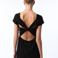 Sparkle & Fade Knit Bow Back DressOnline Only!