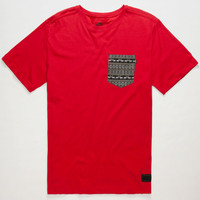 Nike Sb Warm Dri-Fit Mens Pocket Tee Red  In Sizes