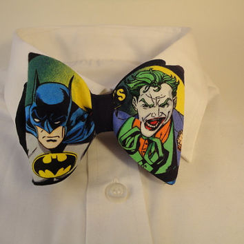 Bow tie Batman and Joker