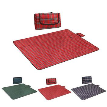 1PC 150*180CM Outdoor Oxford Mat Waterproof Picnic Blanket Rug Travel Outdoor Beach  Camping Mat 3Colors