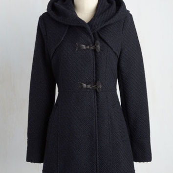 Guten Toggle Coat in Navy | Mod Retro Vintage Coats | ModCloth.com