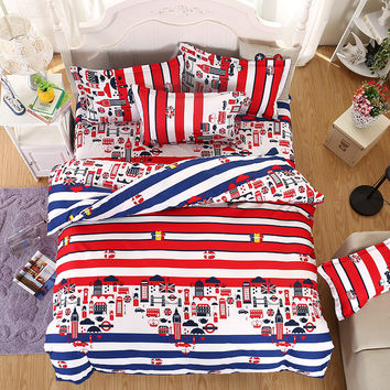 New Arrival Bedding Set Duvet Cover Sets Bed Sheet European Style Adults Kids Bedroom Sets Queen/Full/Twin Size Bedlinen
