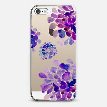 purple flowers iPhone 5s case by Marianna | Casetify