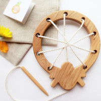 Wooden lacing toy Spider and his spiderweb Fine Motor Skills Learning toy Educational Toy Montessori Toys for Kids Educational toy