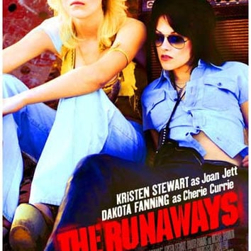 The Runaways Film Dakota Fanning Movie Poster 11x17