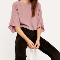 Sparkle & Fade Wide Tee - Urban Outfitters