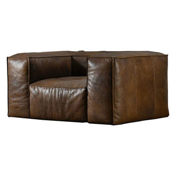 TAG by Tandem Arbor Wooster Extra Deep Chair - Cognac