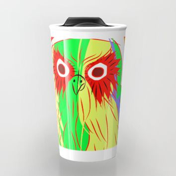 Owl Travel Mug by Mrnobody