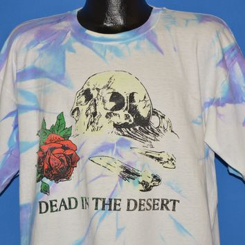 90s Grateful Dead in the Desert Tie-Dye t-shirt Extra Large