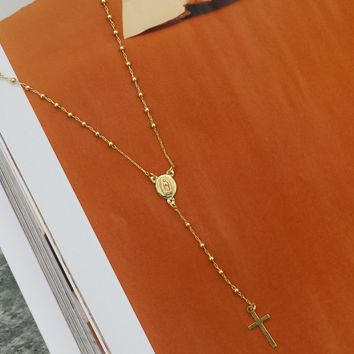 Dylan Skye Rosary Necklace