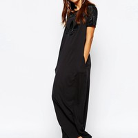adidas Originals Adicolour Tonal Trefoil Logo Maxi Dress