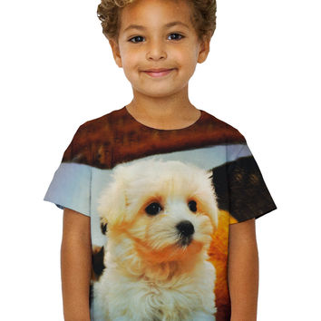 Kids Maltese Table Puppy