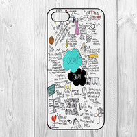 Stars - iphone 5 case iphone 5s case iphone 5c case Hard plastic Soft rubber iphone 5 5s 5c coveri The Fault in Our Stars