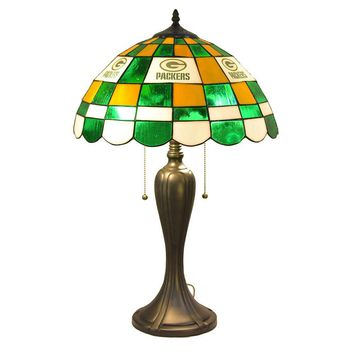 Green Bay Packers NFL Tiffany Desk Lamp