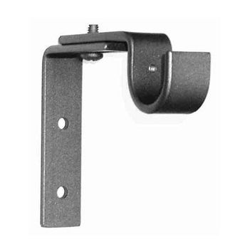 ONA Drapery Adjustable Standard Wrought Iron Curtain Rod Bracket