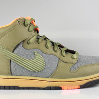 Nike Men's Dunk Hi CMFT Premium QS 'Swoosh Sports Club' Olive