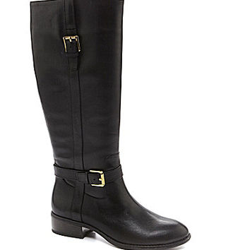 Lauren Ralph Lauren Women's Monica Wide Calf Riding Boots - Dark Brown