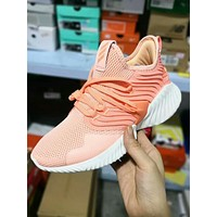 Adidas AlphaBounce New Popular Women Comfortable Net Surface Breathable Sport Running Shoe Sneakers I-A50-XYZ