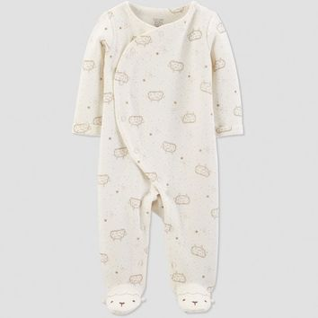 Baby Boys' Collection Sheep Sleep 'N Play - Just One You® made by carter's Ivory