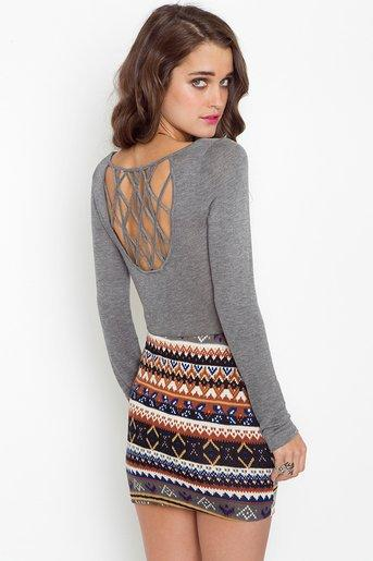 Lattice Knit in  What's New at Nasty Gal