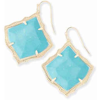 Kendra Scott: Kirsten Drop Earrings In Turquoise