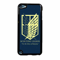 Attack On Titan Scouting Legion iPod Touch 5th Generation Case