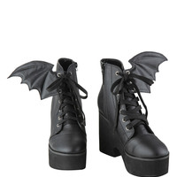 Iron Fist Bat Wing Boots