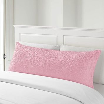 Better Homes & Gardens Kids Textured Ruching Body Pillow Covers - Walmart.com