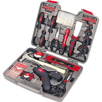 144 Piece Household Tool Kit with 4.8V Cordless Screwdriver