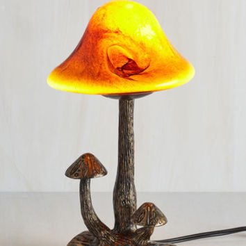 Mushrooms Because You're Earth It Lamp by ModCloth