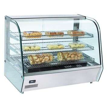 """Commercial Countertop Heated Display Case 34"""""""
