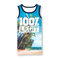 Boys PLACE Sport Sleeveless Photo-Real Graphic Tank Top | The Children's Place
