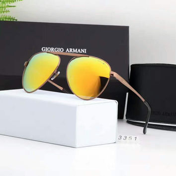 CIORGIO ARMANI Women and Men Fashion Sunglasses Popular Summer Style Sun Shades Eyeglasses Glasses Sunglasses G-A50-AJYJGYS