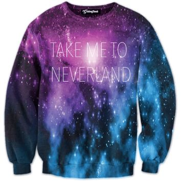 To Neverland Crewneck