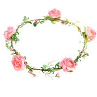 **ROSE FLOWER GARLAND BY ORELIA