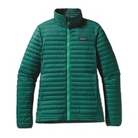 Patagonia Women's Down Shirt | Arbor Green