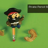 Clever Pirate Pencil Sharpeners