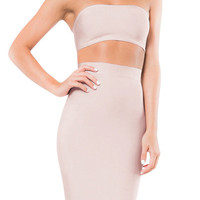 Caleña Bandage Two Piece - Nude